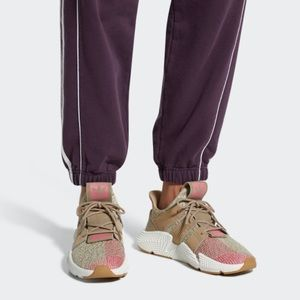 NEW Adidas Prophere Tan/Pink Athletic Shoes Sz 8